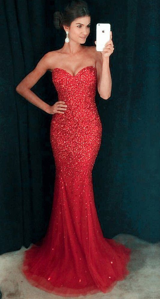 Sexy Mermaid Beaded Prom Dress Evening Party Ball Gown Dresses for Prom,Off the shoudler prom dress,Fishtail dress