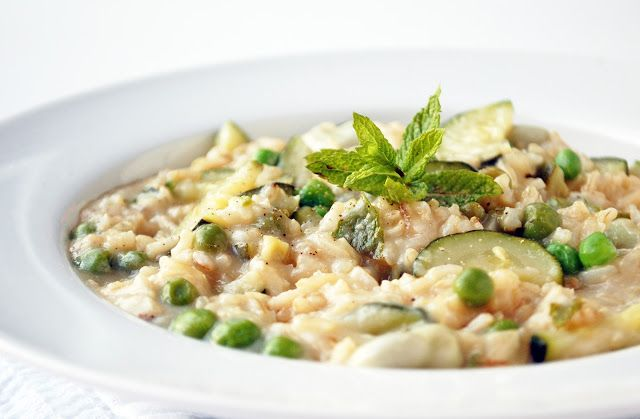 Silky smooth summer risotto | including cake
