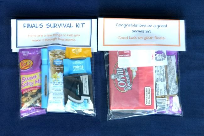 Finals Survival Kit for College Students