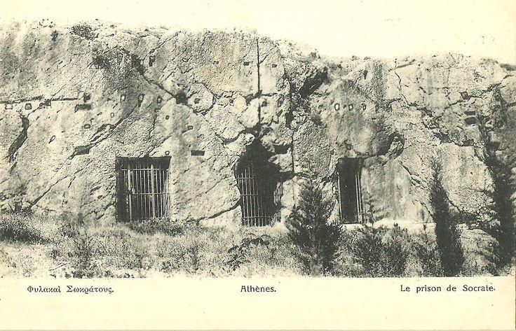 athens socrates prison
