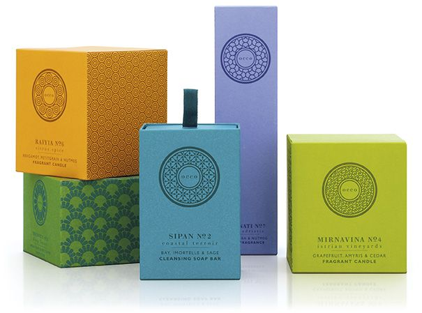 Brand identity and packaging design for new luxury spa and lifestyle brand, Occo.  by Pearlfisher