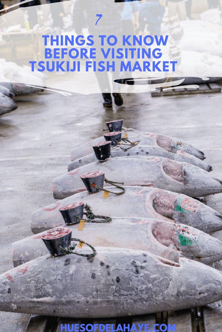 7 Things to Know Before Visiting Tsukiji Fish Market