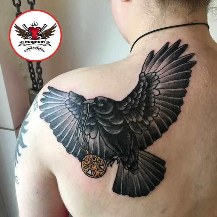 Fantastic black and grey piece using #magnumtattoosupplies