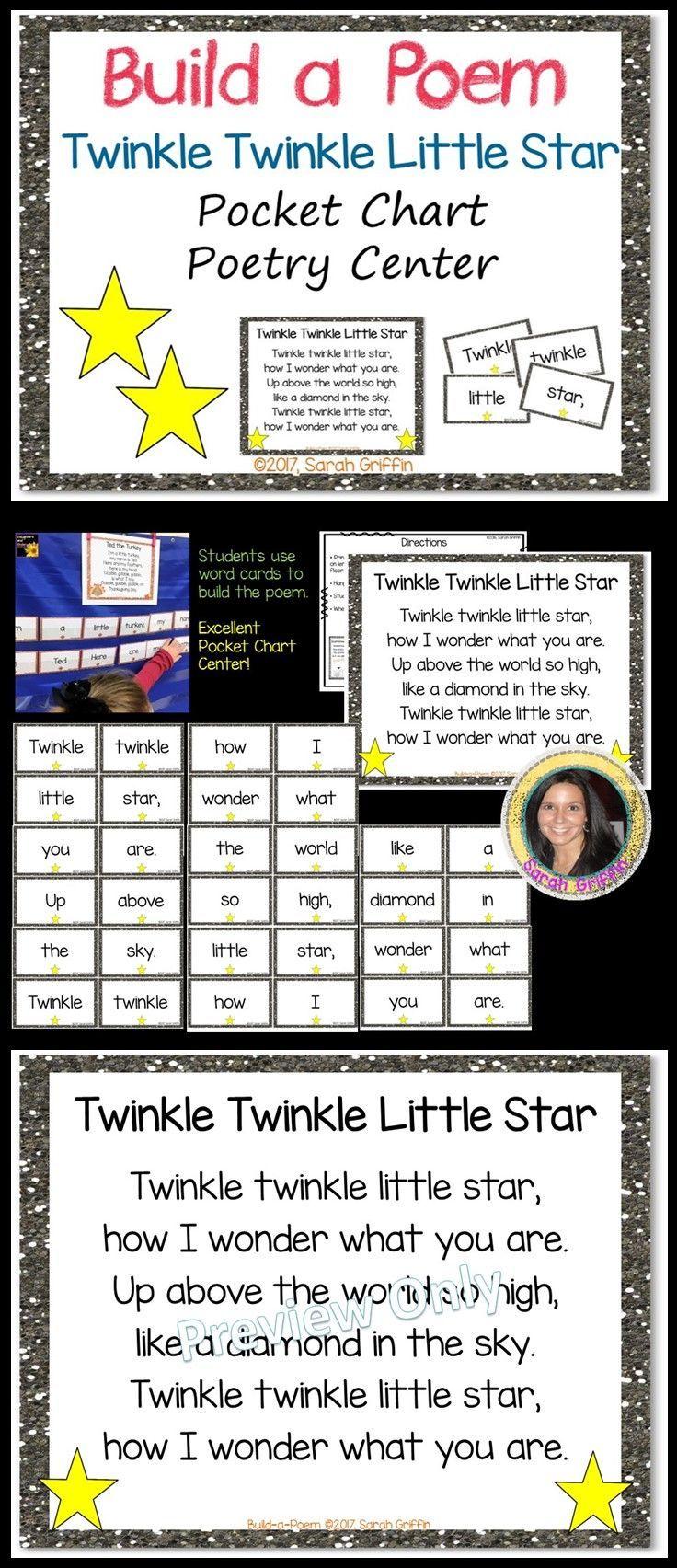 Twinkle twinkle poem