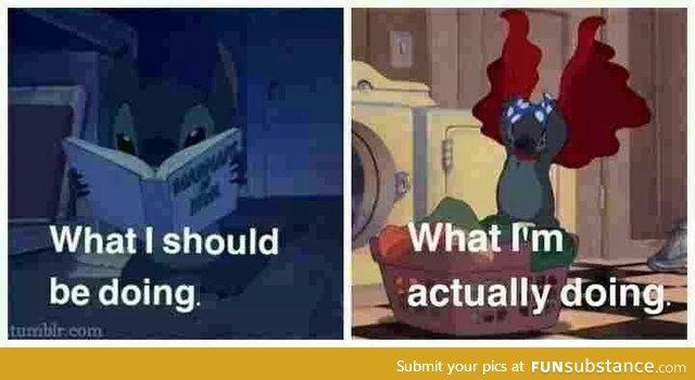 """Studying""..."