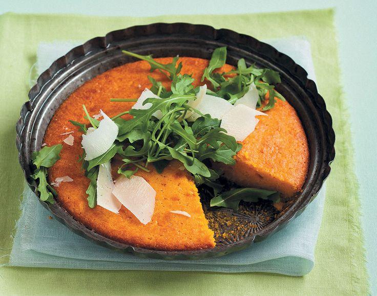 Soutterte soos hierdie pampoentert is heerlike maaltye, en so veelsydig dat dit ook as bykos by braaivleis voorgesit kan word.