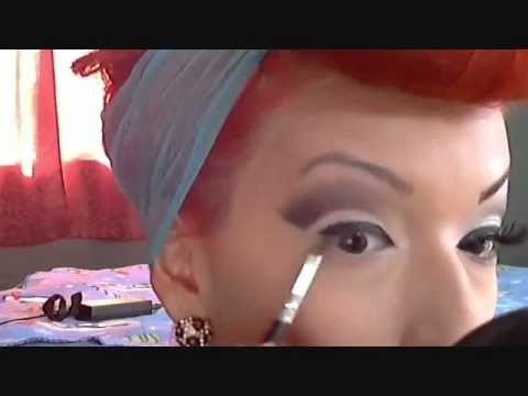 PART 1 - Modern Pinup Makeup Tutorial