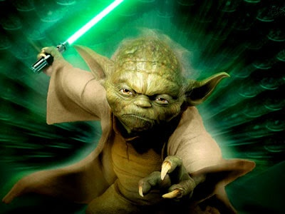 """""""Do or do not, there is no try.""""   - Jedi Master Yoda"""