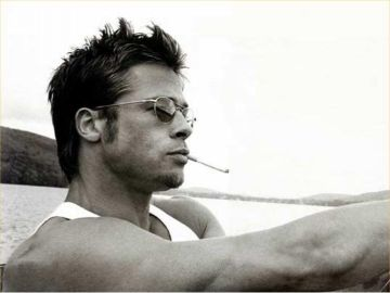 Brad Pitt....before he turned into an old homeless lookin person