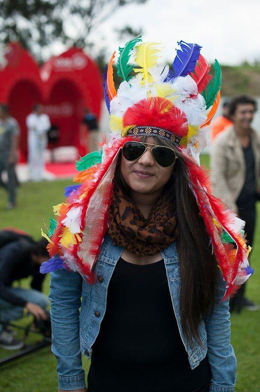 festival stereo picnic  Colores, colores, colores.