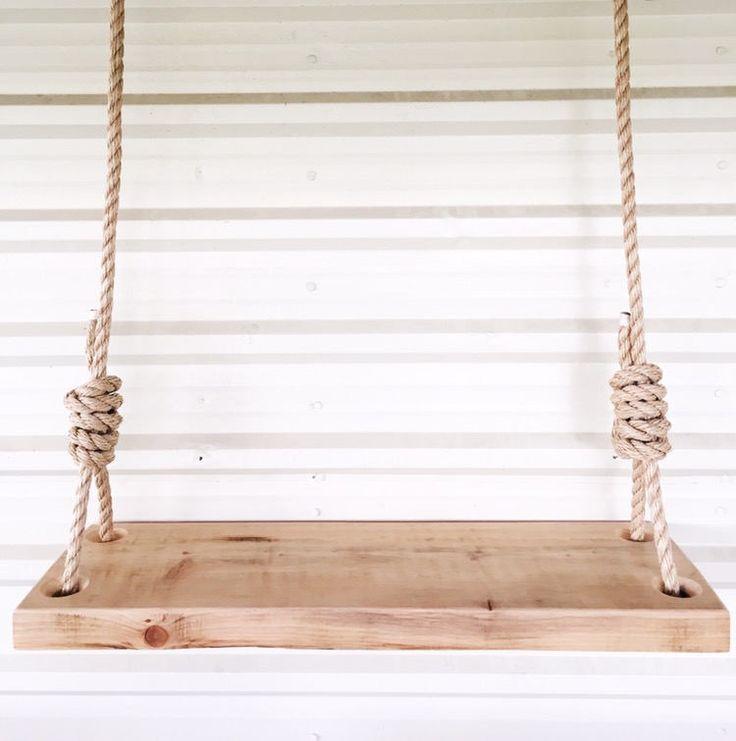 Rope swing rope swing swings and tree houses for Rope swing plans
