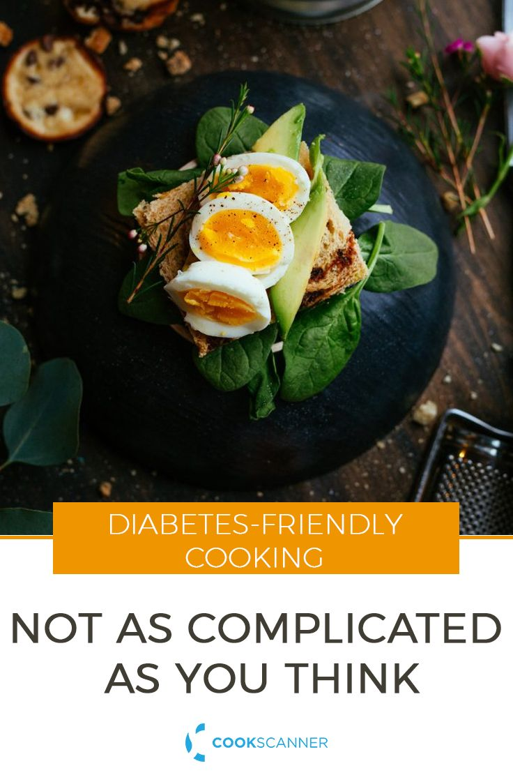 Here are some general guidelines to keep in mind if you cook for diabetics or want to create a diabetic-friendly menu. https://cookscanner.com/blog/diabetes-prep/