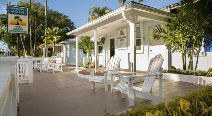 Southwinds Motel Key West Offering an outdoor pool, this Old Town Key West motel features free WiFi access and a cable TV in each room. Duval Street is 2 minutes' walk away.  A patio, microwave, and refrigerator are included in all rooms at this Key West Southwinds Motel.