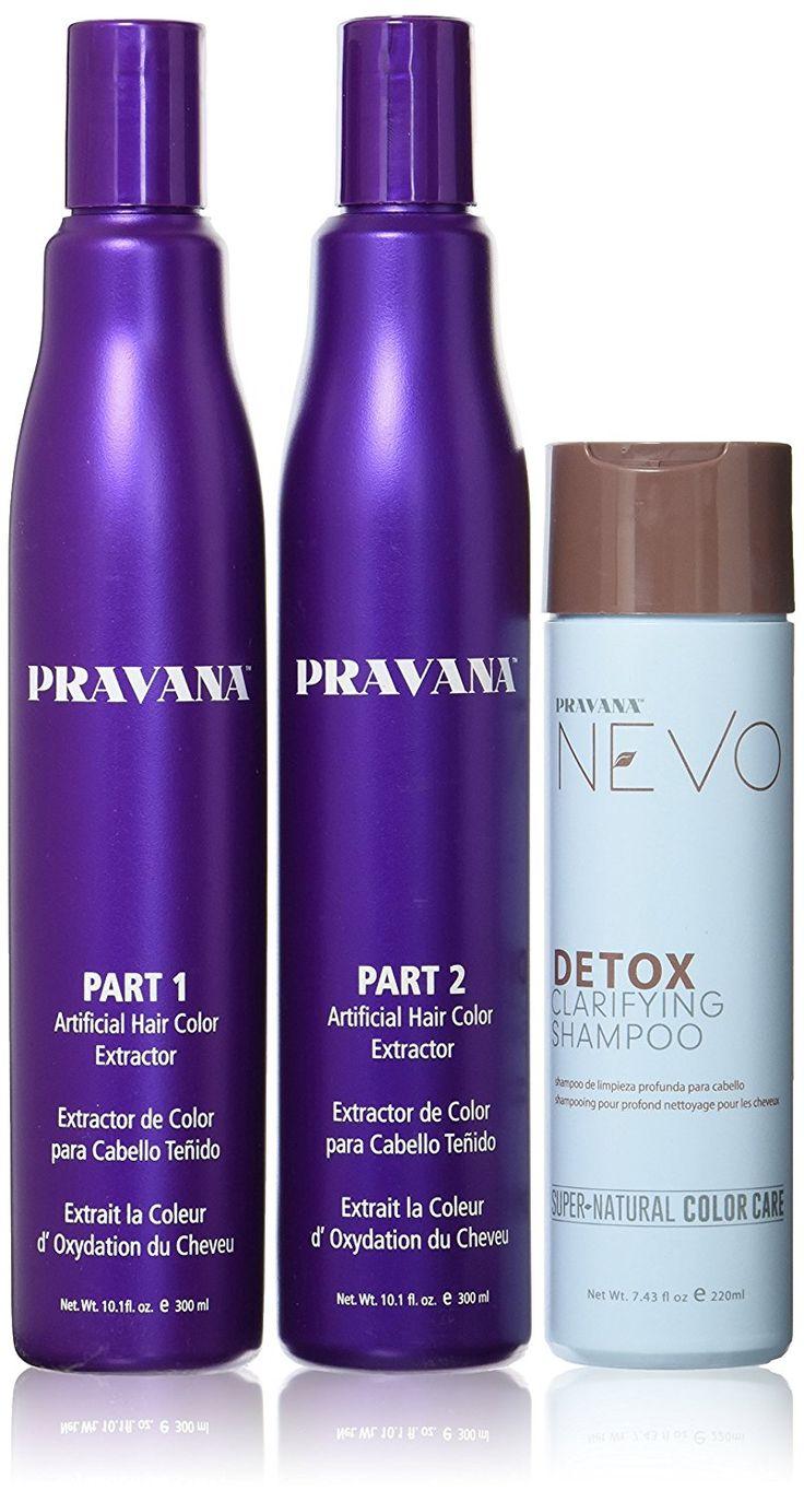 Pravana Artificial Hair Color Extractor 3combo Set *** Click image for more details. #hairdo