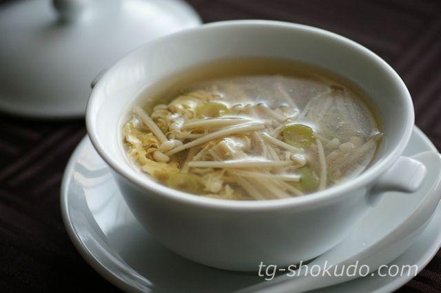 えのきのかき玉スープ【中性脂肪を下げる汁物のレシピ】