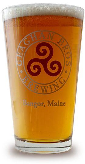 Geaghan's Pub & Craft Brewery - Bangor, Maine | Smiling Irish Bastard-Pale Ale