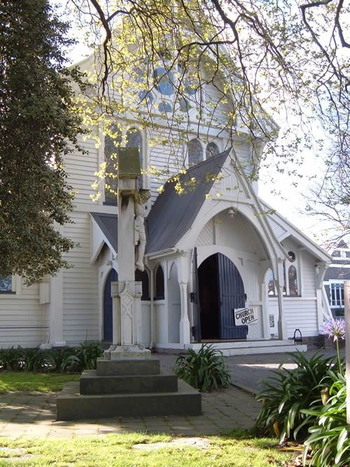 St Michael and All Angels Anglican church, Christchurch, New Zealand