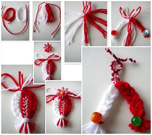Little hanging things from yarn
