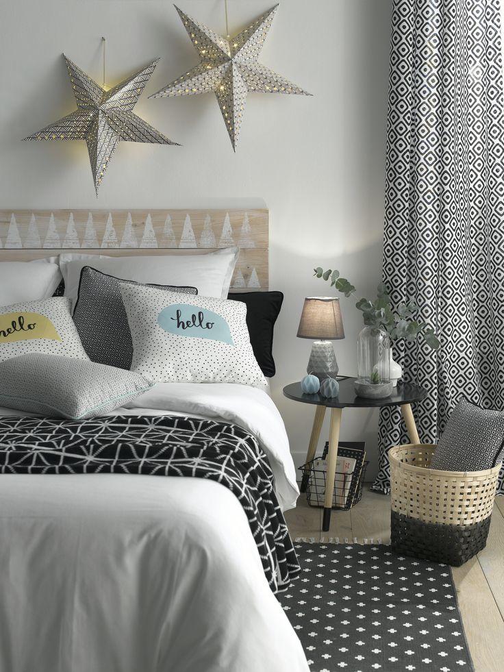 Pour une chambre plus apaisante ajouter de nombreux oreillers pillow coussin