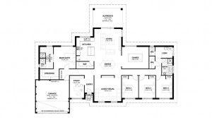 Woodbridge Farmhouse Floorplan