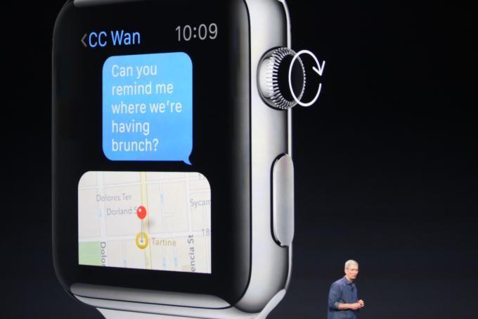 #AppleWatch user interface