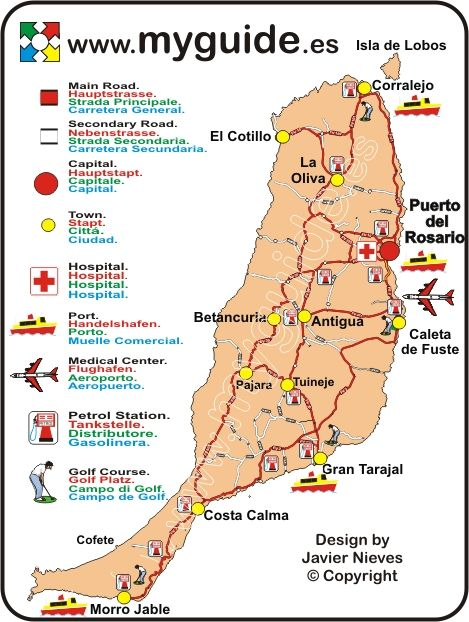 maps of fuerteventura - Google Search