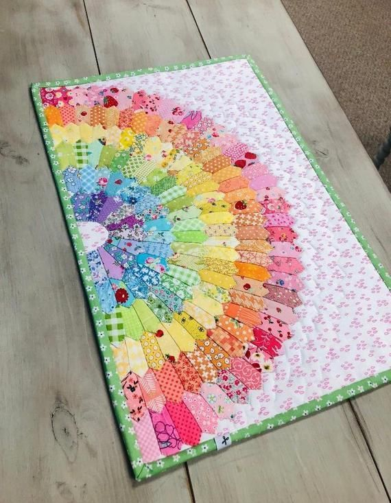 Sew Easy Mini Dresden Quilting//Patchwork Template