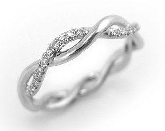 Diamond Infinity Knot Ring Infinity Ring Diamond Wedding by Benati