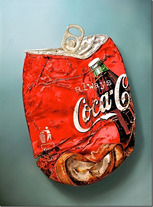 Photorealistic Food Paintings by Tjalf Sparnaay  selling upwards of ,000