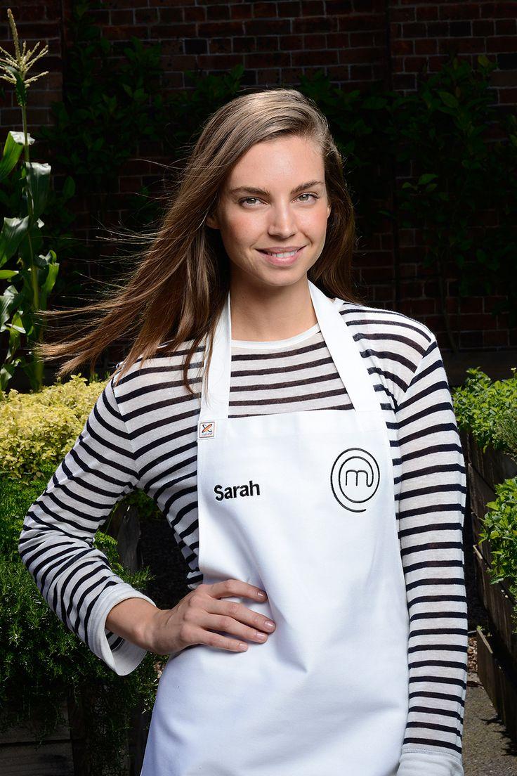 Sarah Todd from MasterChef Australia 2014.