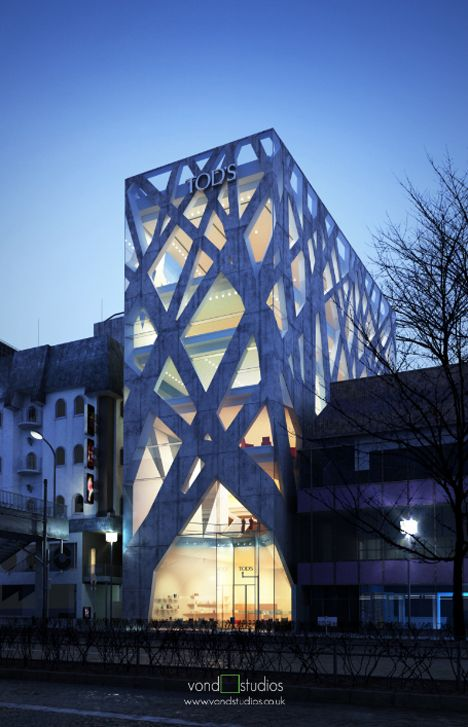 Tod's - Toyo Ito  http://noform.pl - Arch Inspirations