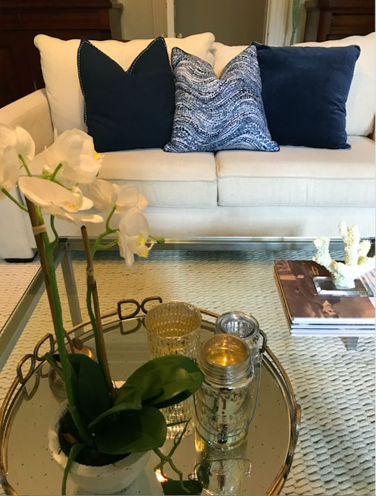 Nothing beats blues! Styled by Ornella Botter Interiors