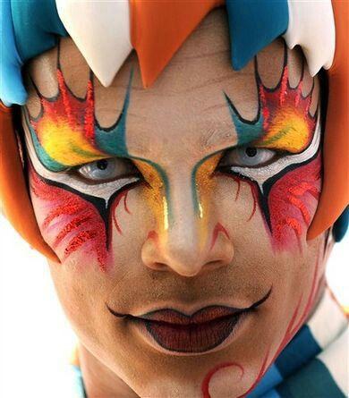 Maquillaje Circo del sol