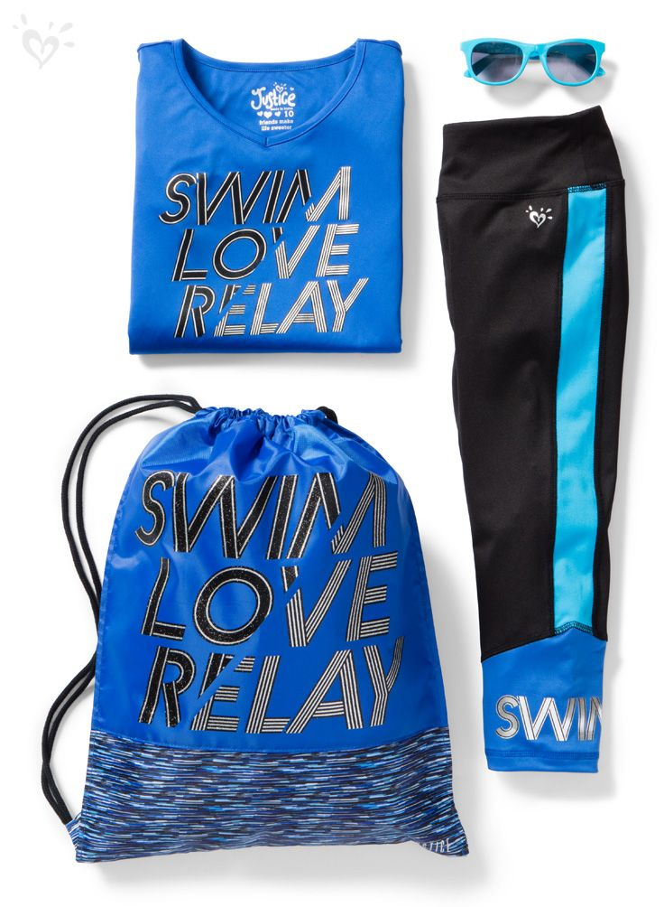 Love to swim? Then dive into our exclusive collection of activewear made for swimmers!