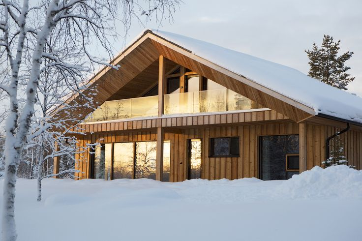 JOARC I ARCHITECTS • Holiday Villas • Chalet Lompolonmohkki