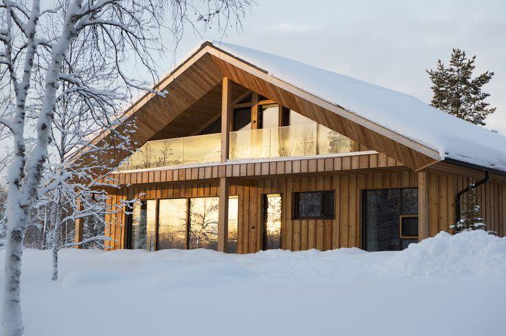 JOARC I ARCHITECTS • Holiday Villas • Chalet Lompolonmohkki