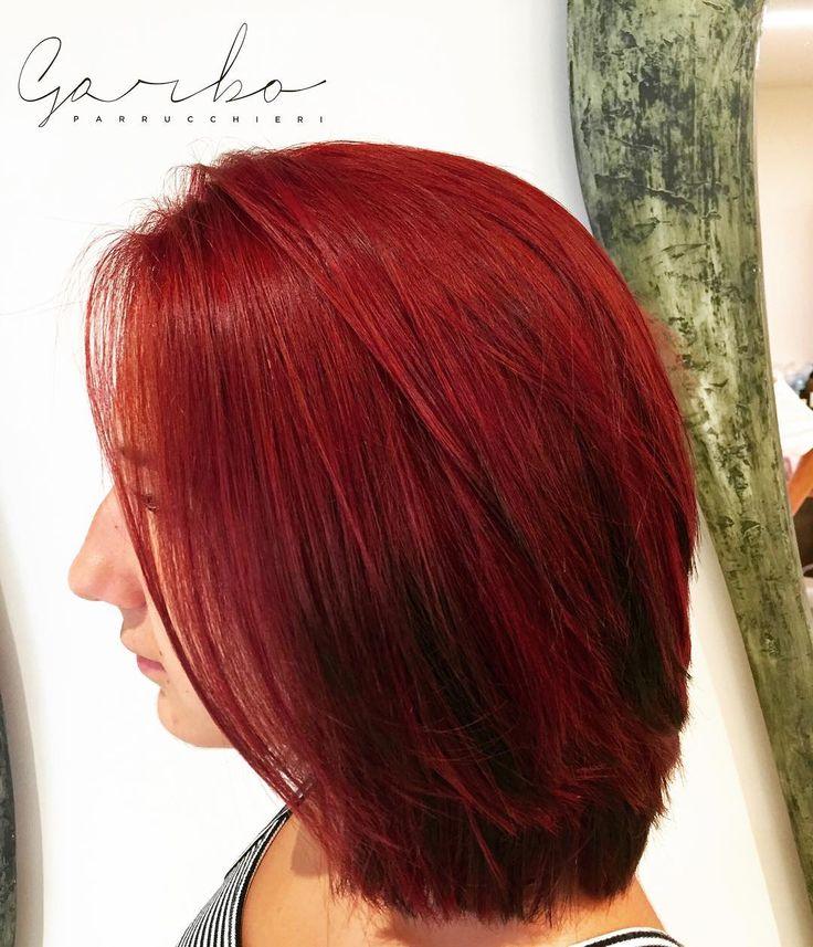Martaaa Rossa da Vigevanoo  --- #garboparrucchieri #colorbar #colore #lucentezza #capelli #effettocolore #sfumatureneicapelli #nuovocolore #nuovo #moda #tendenza #colorazione #instahair #gropellocairoli #garlasco #vigevano #pavia #milano