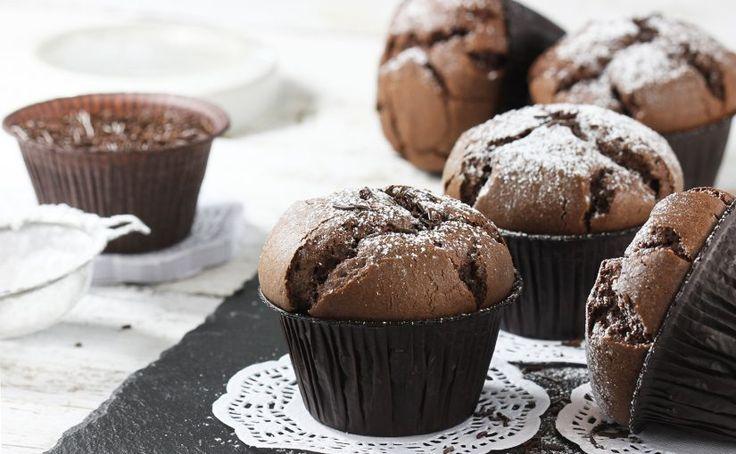 Muffinki murzynki | Ania gotuje