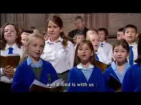 England - Choirs of school children from Cheshire and the Wirral celebrate Epiphany in Chester Cathedral singing Michael Card's 'Emmanuel'