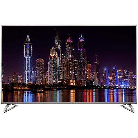 """Buy Panasonic Viera 50DX700B LED HDR 4K Ultra HD Smart TV, 50"""" With Freeview Play, Built-In Wi-Fi & Art Of Interior Switch Design Online at johnlewis.com"""