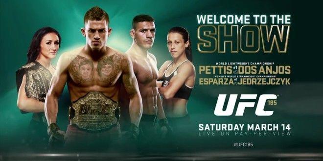Carla Esparza vs Joanna Jedrzejczyk Fight Finish Gif From UFC 185