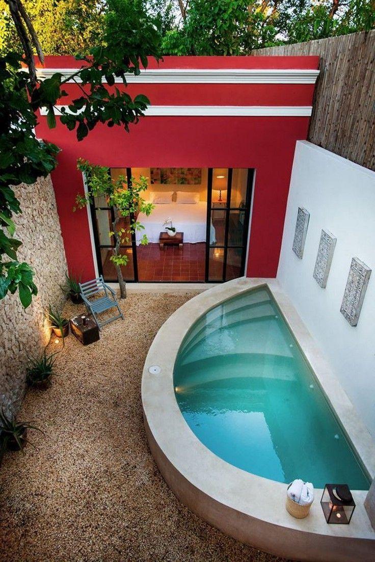 30 Petites Piscines Pour Une Maison De Ville Petite Piscine Amenager Petit Jardin Piscine Maison