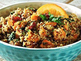 Favorite Fall Recipe: Warm Chai-Spiced Quinoa & Roasted Sweet Potato Salad