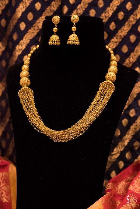 Laxmi Gold Necklace