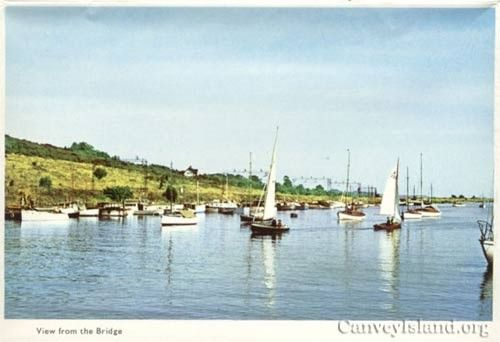 Hadleigh Ray | South Benfleet Creek | Location Cards | Canvey Post Cards | History | Canvey Island Archive