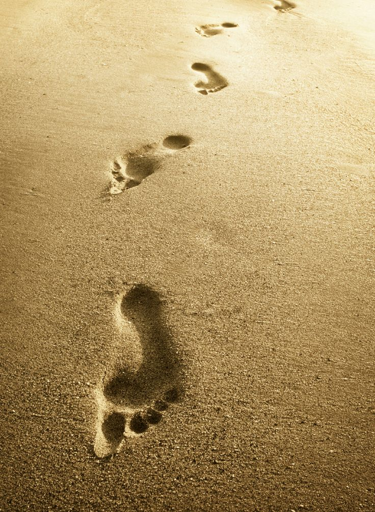 14 best Footprints in the Sand images on Pinterest | Footprints, The ...