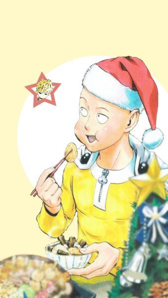 [One Punch Man] Saitama Christmas Anime & Manga (^.^) I