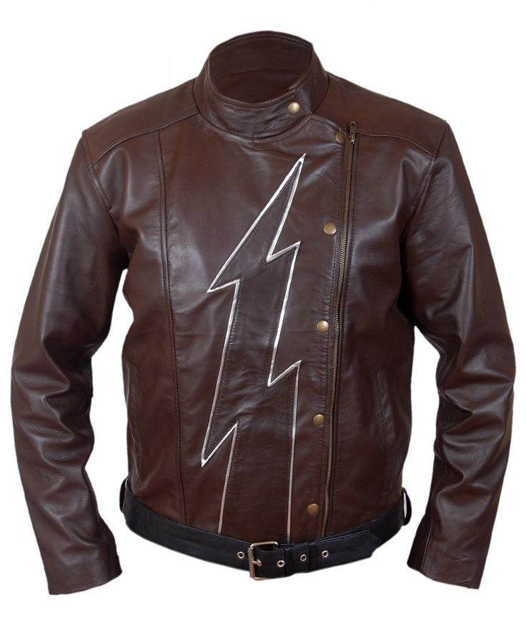 F&H Boy's Flash Season 2 Jay Garrick Teddy Sears Jacket XS Brown. Premium quality synthetic leather. Polyester + satin lining with 2 inside pockets. Original ykk zipper. 30 day returns & exchange, 100% money back guarantee. International buyers may be required to pay import duties as levied by their government.