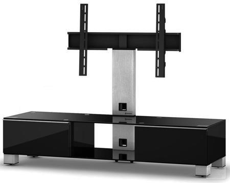 Sonorous MD 8140 B-INX-BLK  — 47250 руб. —  Надежная стойка под телевизоры с универсальным поворотным креплением из закаленного стекла с полированной кромкой. Поворотное крепление подходит для всех видов плоских телевизоров (LCD, LED и плазма) и имеет возможность регулировки высоты. В задней ножке расположен кабель-канал для маскировки проводов и кабеле. Оснащена скрытой роликовой системой для плавного перемещения ТВ стойки вместе с телевизором и другой аппаратурой. Стойка предназначена для…