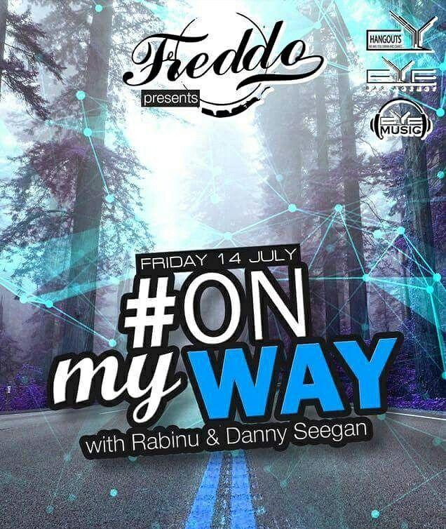 TONIGHT!!! 22:30, #ONmyWAY with Dj Rabinu & Dj. Danny Seegan at Freddo Bar & Lounge.✔ #Eyemusic #Eyebaragency #Dj #RABINU #DannySeegan #Freddo #Smardan24